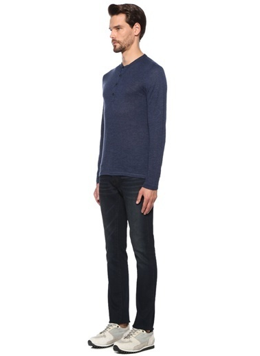 John Varvatos Star USA Sweatshirt Mavi